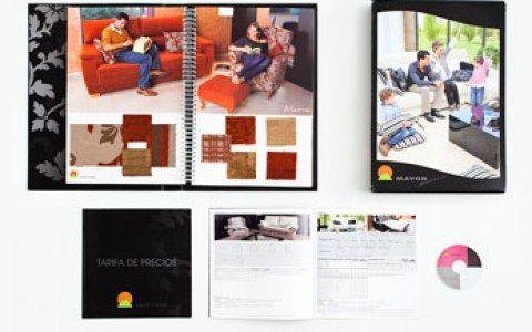 Diseño catálogo muestrario
