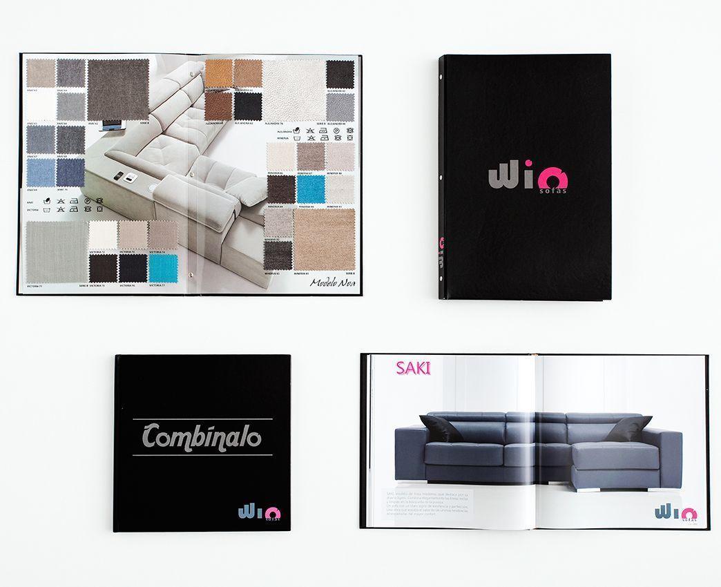 Diseño catálogos, diseño muestrarios
