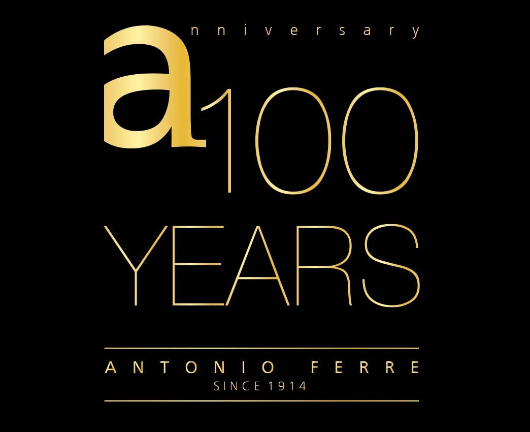 Diseño logotipo para el 100 aniversario