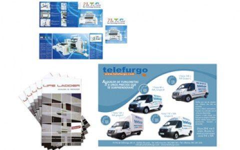 Diseño, maquetación folletos