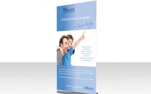 diseño anuncio banco mediolanum