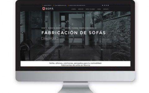 Diseño web Murcia,Q sofá
