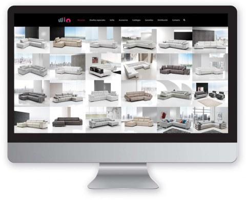 Diseño web Wiosofas