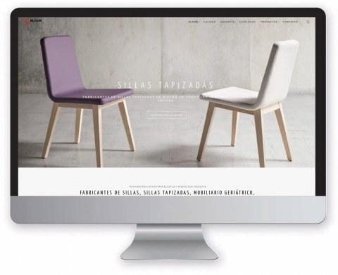 Diseño web Funcional mobiliario