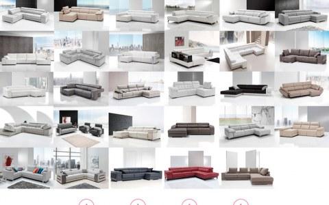 Diseño web para sofás