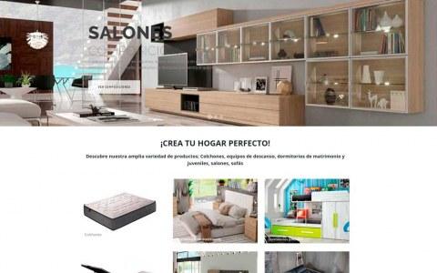 Diseño web para colchones