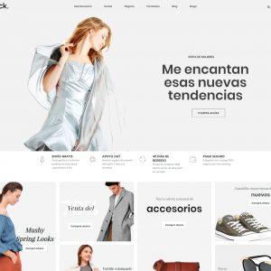 Tienda virtual moda