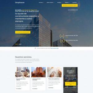 Diseño web para constructoras