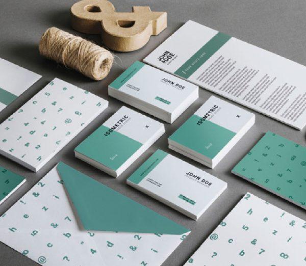 Diseño de tarjetas corporativas