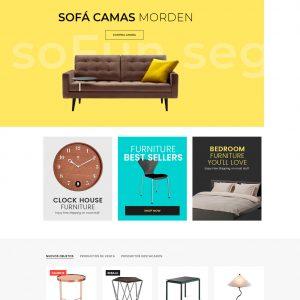 Página web para muebles