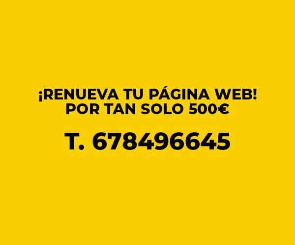 Renueva tu web
